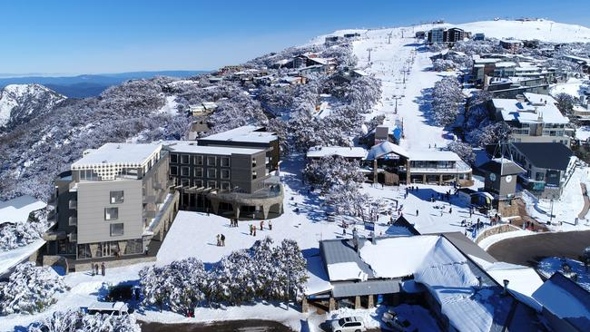 An artist's impression of the Kooroora development at Mt Buller.