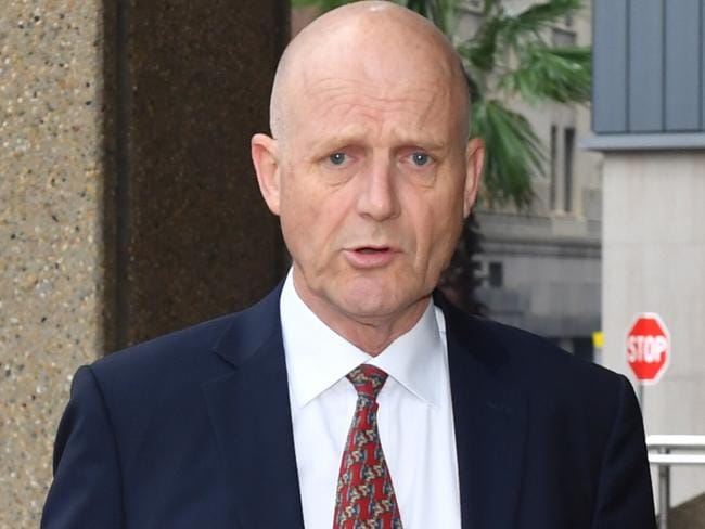 David Leyonhjelm arrives at the Federal Court in Sydney. Picture: Dean Lewins/AAP