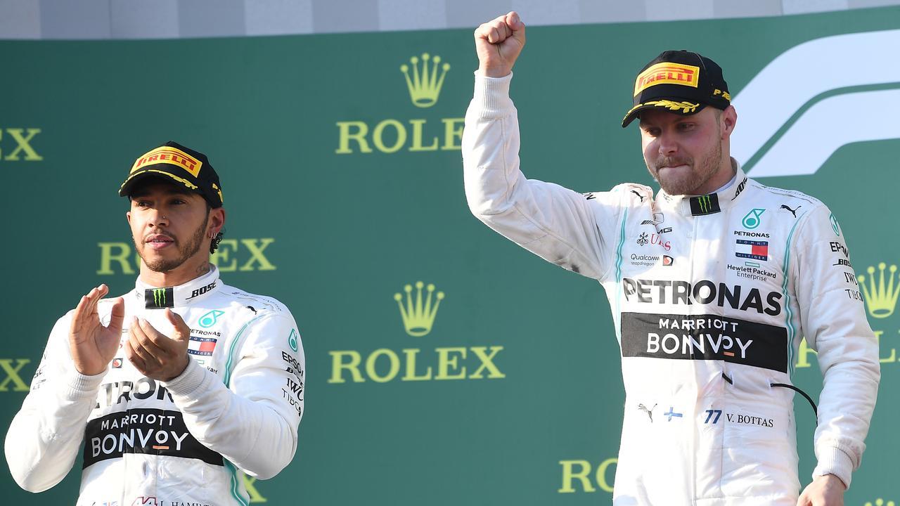Valtteri Bottas won the first race of the season in Melbourne on Sunday.