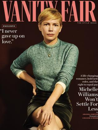 Michelle Williams in Vanity Fair. Picture: Supplied