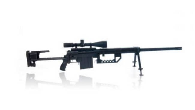 The CheyTac M200 rifle. Picture: Supplied/Cheytac.com