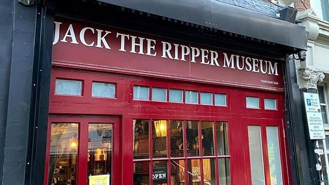 The Jack the Ripper Museum in London. Picture: Instagram/@allenspencer1