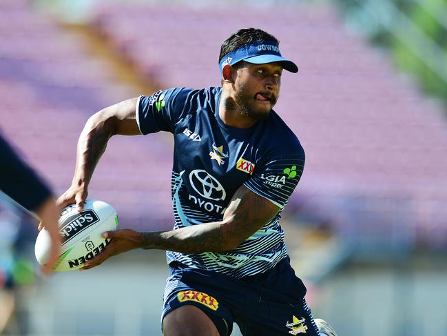 The Cowboys were praised by the NRL for terminating Barba's contract.
