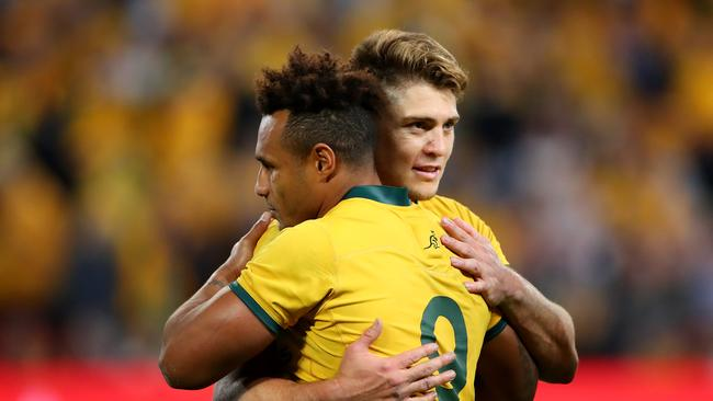 James O'Connor has sprinkled class on the Wallabies backline, according to Will Genia.
