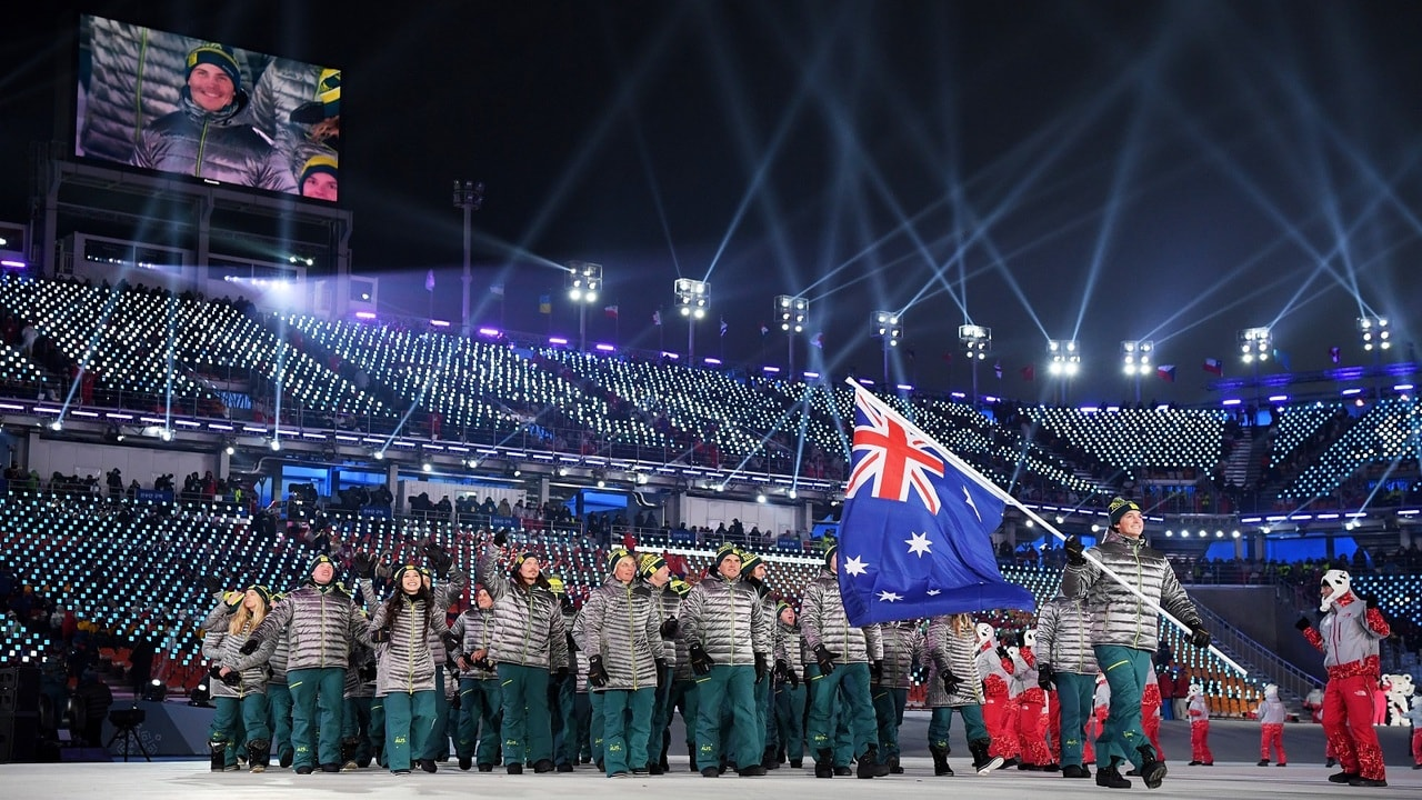 Winter Olympic Opening Ceremony North And South Korean March Together Wiring Money To Korea The Olympics Is Officially Underway In Pyeongchyang Australian Eyes Were On World Champion Snowboarder Scotty James