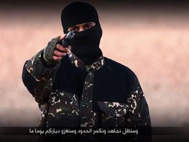 Another still from the ISIS video.