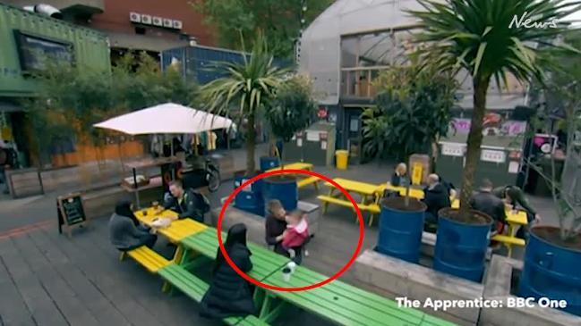 Wife spots her husband on The Apprentice with another woman