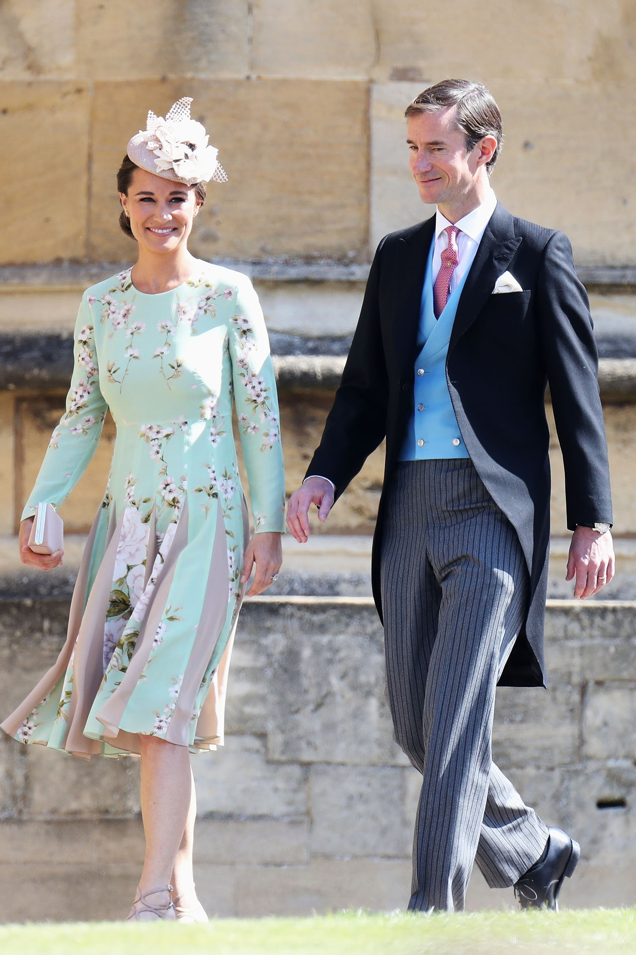 Pippa Middleton just arrived at the royal wedding pregnant ... - photo#22