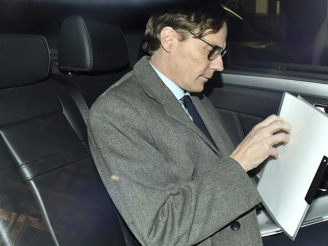 Alexander Nix is the Chief Executive of Cambridge Analytica, the company accused of improperly using information from more than 50 million Facebook accounts. It denies wrongdoing. Picture: Dominic Lipinski/PA