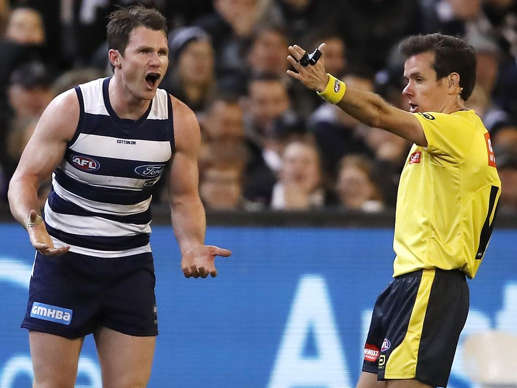 AFL 1st Qualifying Final - Geelong v Collingwood