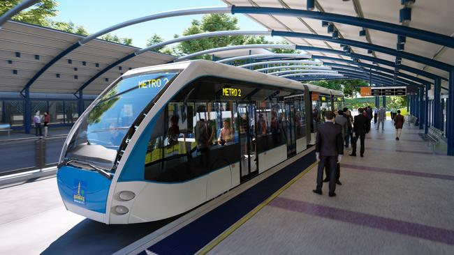 Projects such as the Brisbane Metro will drive significant jobs growth in Queensland.