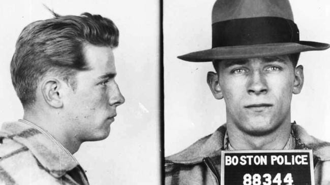 Bulger's life of crime started early, as these 1953 mugshots prove. Picture: Boston Police/The Boston Globe via AP
