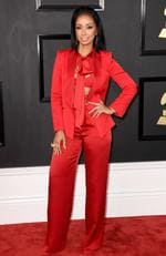 Mya attends The 59th GRAMMY Awards at STAPLES Center on February 12, 2017 in Los Angeles, California. Picture: AFP