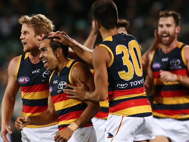 How could anyone dislike Eddie Betts? Picture: Morne de Klerk/Getty Images