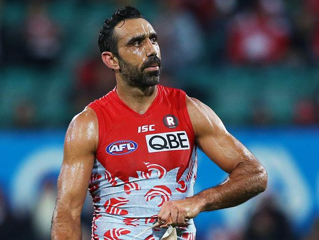 Adam Goodes' stunning career came to a sad ending.