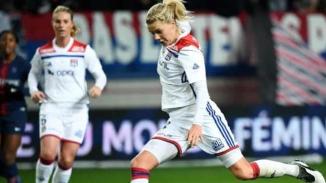 Hegerberg is a goalscoring machine. Image: AFP