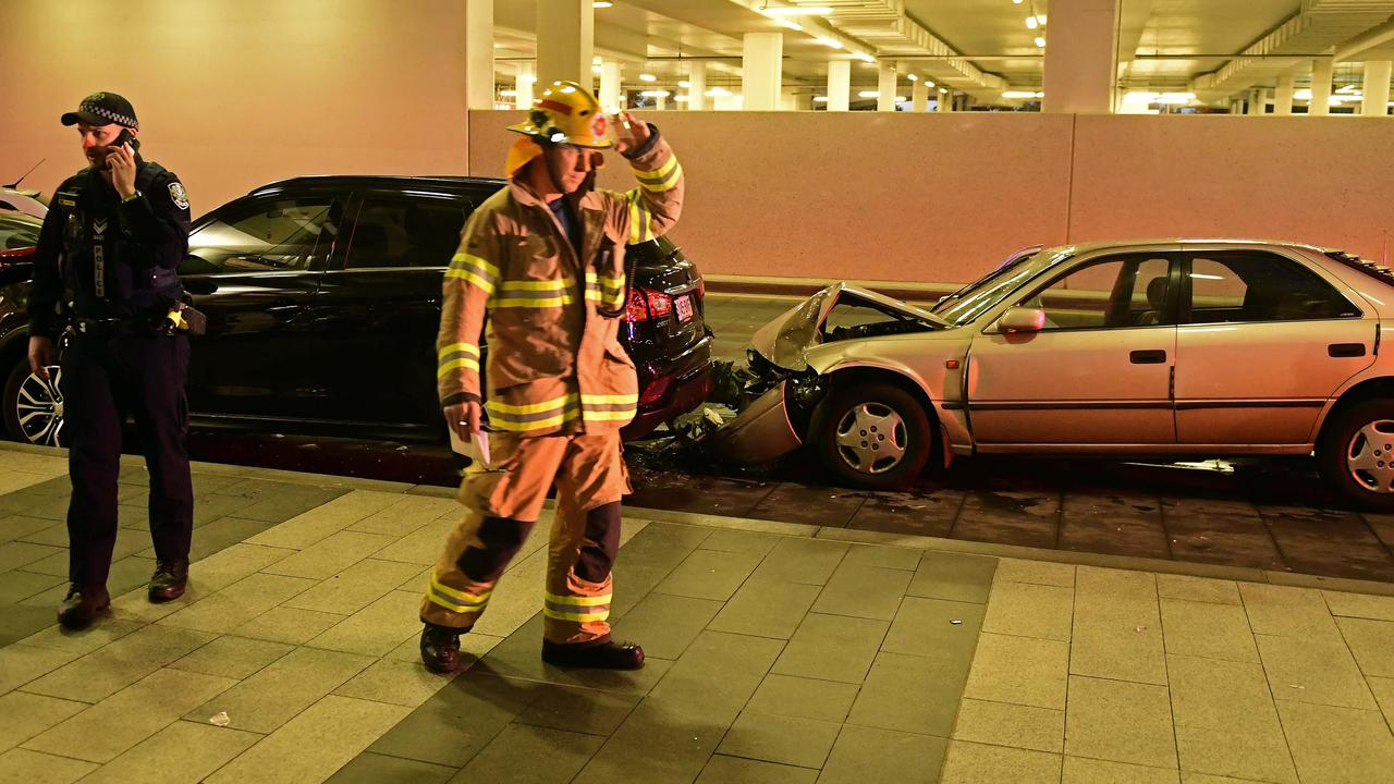 Adelaide Airport Car Crash Pedestrians Hit In Accident At Drop Off Zone
