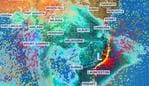 Gale force winds are likely to rattle south and eastern Australia. Picture: Sky News Weather.