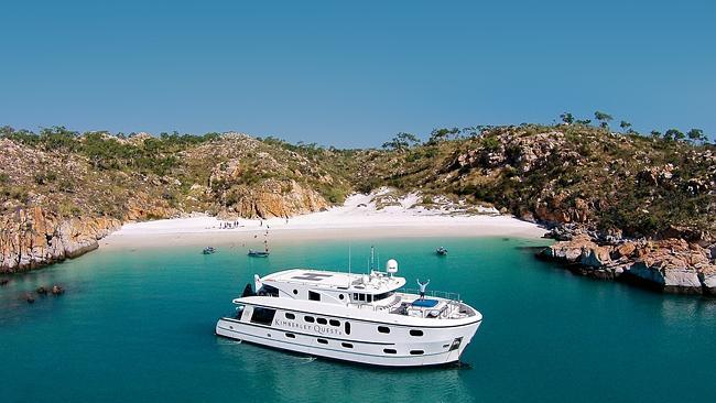 Cruising the Kimberley on the Kimberley Quest II