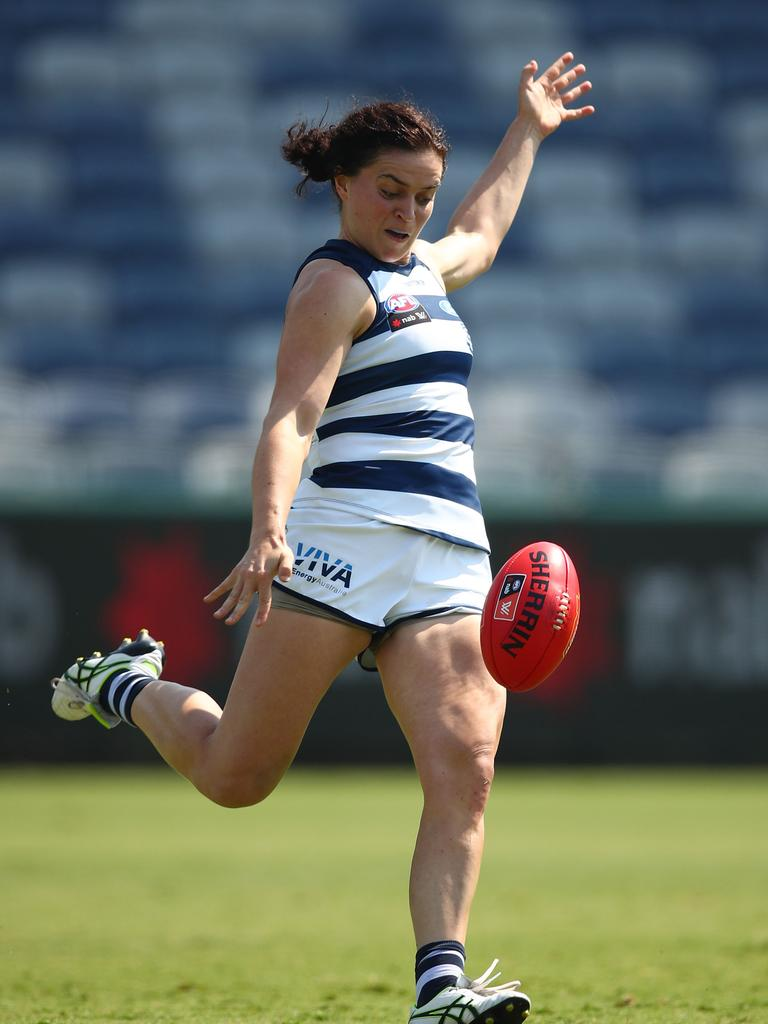 Meg McDonald is one of the players who has been involved in CBA negotiations. Photo: Scott Barbour
