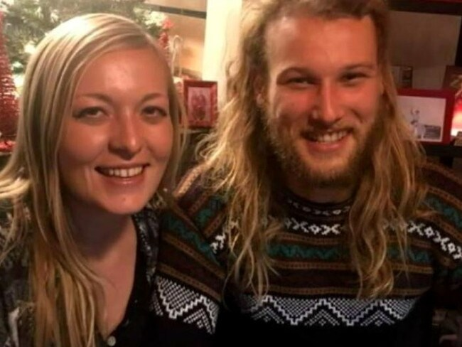 Australian Lucas Fowler and his girlfriend Chynna Deese, an American, were found murdered on the Alaska Highway on July 15. Picture: Facebook