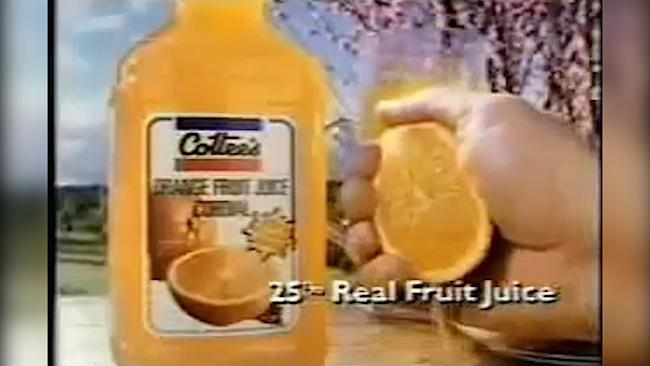Cottee's Cordial classic advert - My Dad picks the fruit