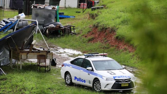 Tweed-Byron set up a crime scene at the Kanes Road property.
