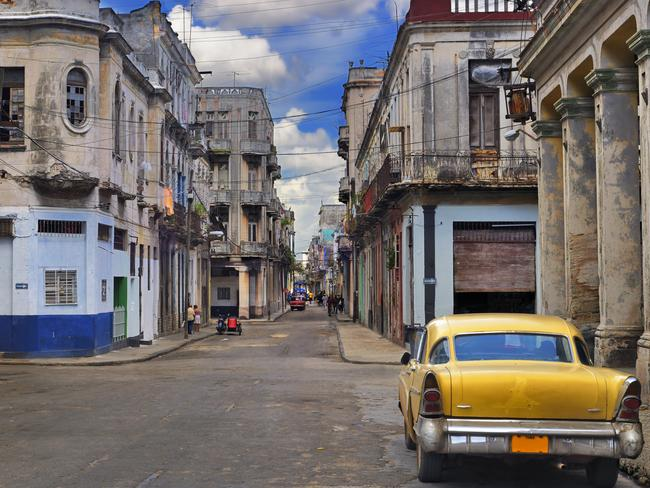 Old cars, modest crumbling buildings ... the reality of life for the people of Cuba's capital Havana.