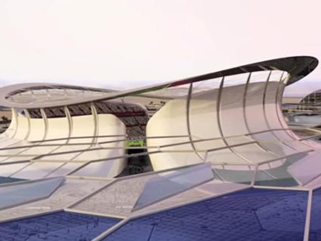 The space age Iconic Stadium will play host to the 2022 World Cup final.