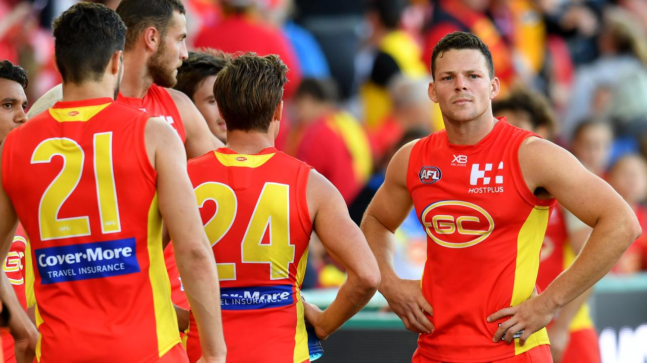 Steven May is set to depart the Suns. Photo: Darren England/AAP Image.