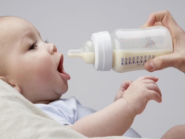 Bottle-fed babies are more likely to be overweight later in life, the study revealed.