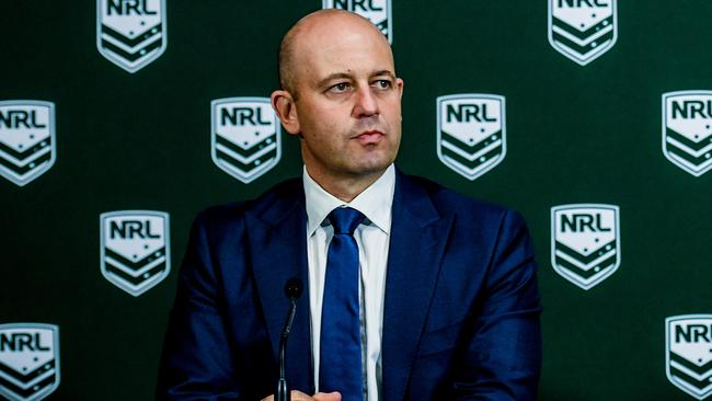 NRL CEO Todd Greenberg first saw the CCTV footage of Lodge's vicious 2015 attack that has shocked the public more than 18 months ago. Photo: Brendan Esposito