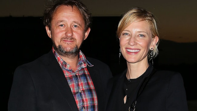 Cate Blanchett with husband and long-time collaborator Andrew Upton. Source: Getty Images