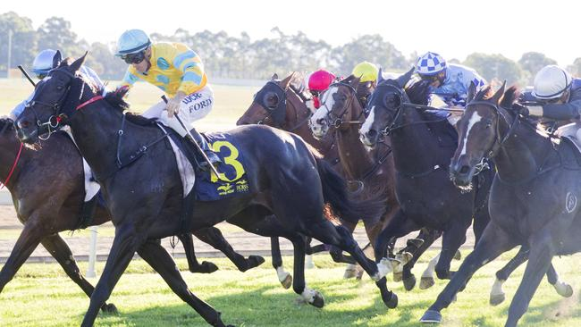 Hawkesbury will host a six-race card on Sunday, starting at 2pm. Picture: Jenny Evans