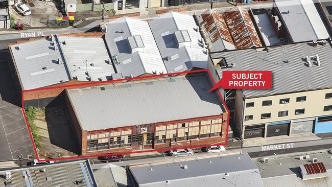 One of the last original 1920s Geelong Red brick warehouses at 2 Market St, Geelong sold for $1.805 million.
