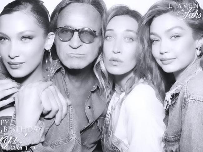Bella, Mohamed, Alana and Gigi Hadid. Picture: Instagram