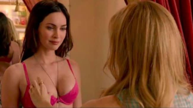 Megan Fox clearly needs a GBF that's not jealous of her trying on dresses. Photo: Supplied.