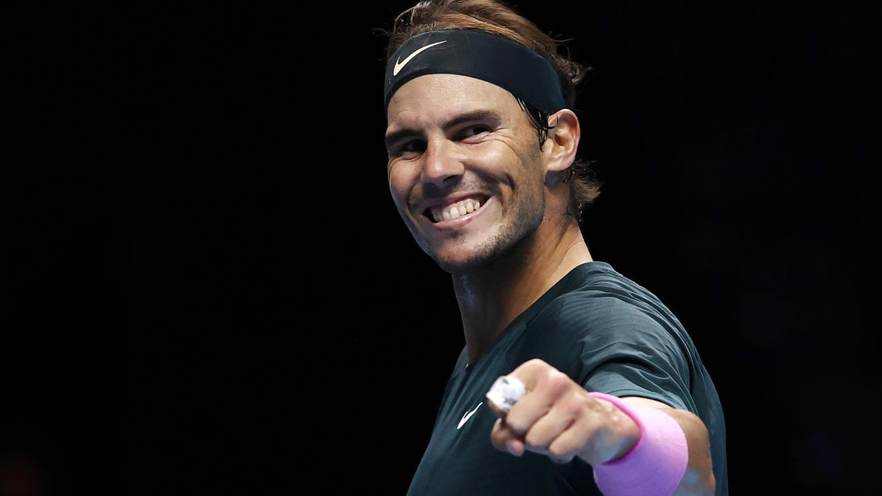 Rafael Nadal came out on top. (Photo by Clive Brunskill/Getty Images)