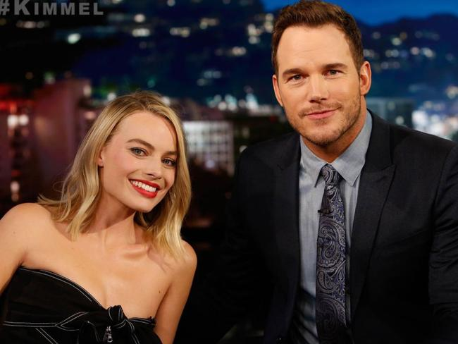 Chris Pratt and Margot Robbie