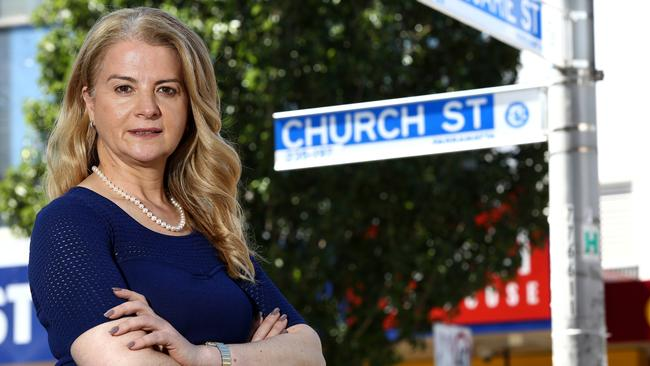 "Sydney City Councillor Angela Vithoulkas says the light rail saga has turned into a ""horror story"". Picture: AAP Image/ Justin Sanson."