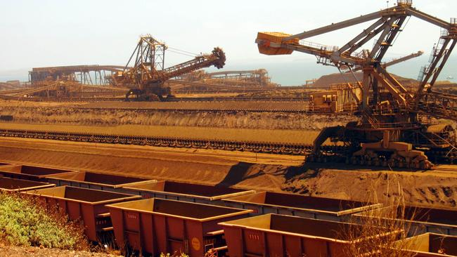 CommSec economist Ryan Felsman says China is looking for alternative sources of iron ore, but Australia offers the world's best quality.  Photo: Amy Koops / AFP