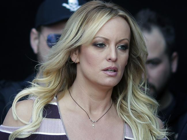 Adult film actress Stormy Daniels was represented by Michael Avenatti but has now said she's not surprised by his extortion charge. Picture: AP Photo/Markus Schreiber