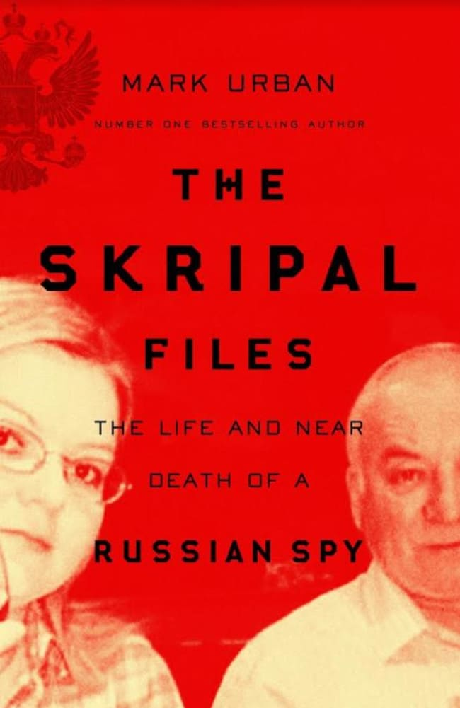 The cover of The Skripal Files by Mark Urban.