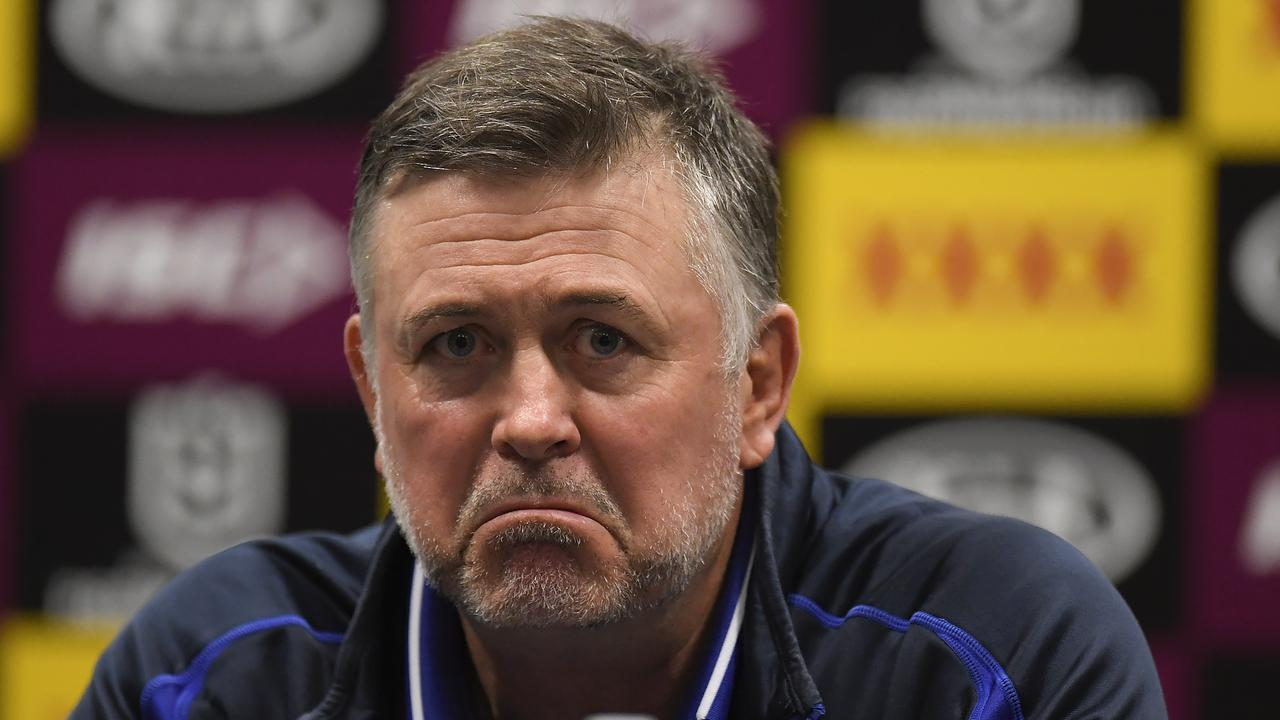 Dean Pay's time at the Bulldogs could be over. (Photo by Albert Perez/Getty Images)