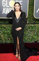 Actor Eva Longoria attends The 75th Annual Golden Globe Awards at The Beverly Hilton Hotel on January 7, 2018 in Beverly Hills, California. Picture: Frazer Harrison/Getty Images