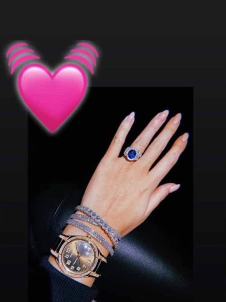 Ronaldo Girlfriend Georgina Rodriguez Shows Off 1 5 Million Worth Of Jewellery Fox Sports