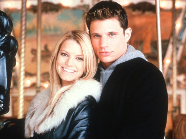 Jessica Simpson and Nick Lachey in 2001.