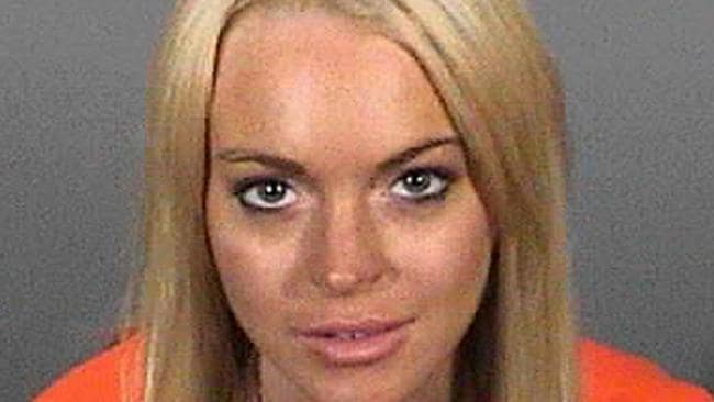 Dangerous driver ... Lindsay is no stranger to trouble and has a long rap sheet for vehicle-related offences. Picture: AFP