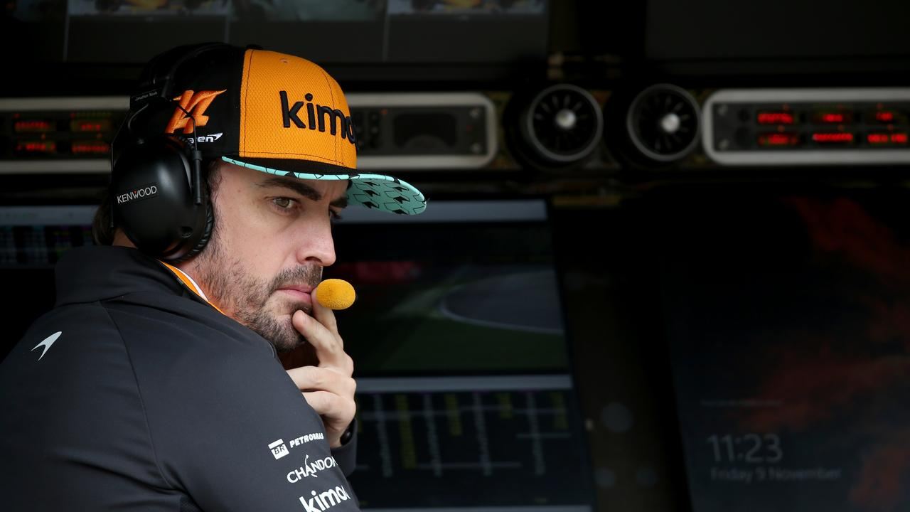 Fernando Alonso is enduring a tough time in his final season in F1.