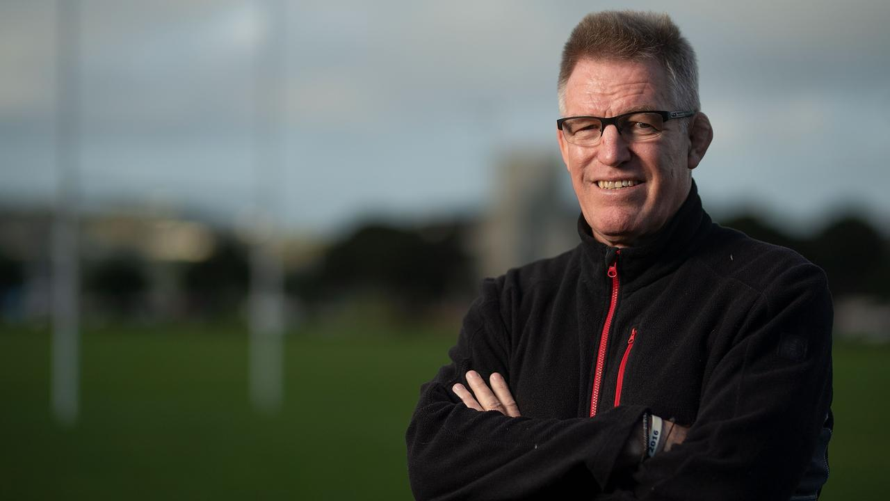 Fiji coach John McKee poses for a photograph at Poneke Park in Wellington.